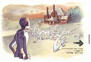 Alain Kokor, La villa Yourcenar pour Traits d'Info (La Revue dessinée/France Info), 2014