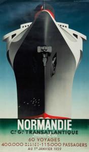 Le paquebot de Cassandre pour la Compagnie Générale Transatlantique (1935) : tout l'imaginaire d'une époque