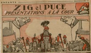 Zig et Puce, créations les plus célèbres de Saint-Ogan (ici en 1931)