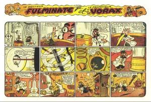 Fulminate et Vorax d'Erik, où la lutte entre la science du Bien et la science du Mal