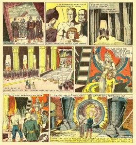 Vers les mondes inconnus de Liquois (1943-1944), ou les premiers pas d'un auteur sur les traces d'Alex Raymond