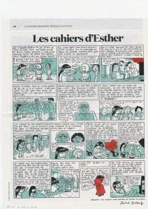 """Esther au retour des attentats de Charlie Hebdo : """"Cette semaine il s'est passé quelque chose de grave."""""""