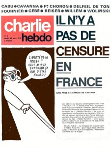 L'Hebdo Hara-Kiri est renommé Charlie Hebdo après son interdiction de diffusion par le pouvoir gaulliste en 1970.