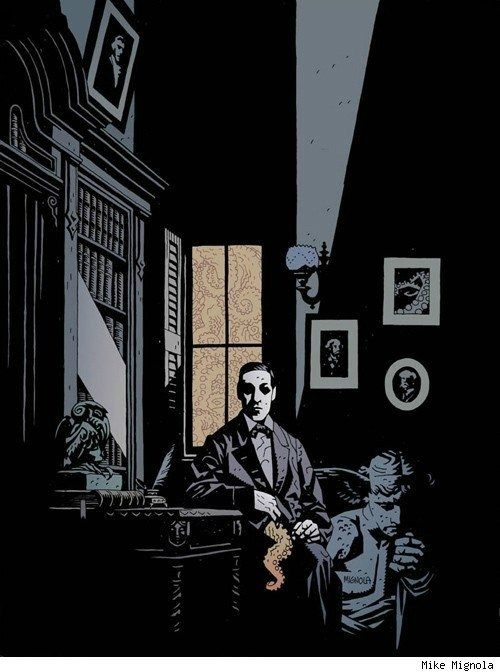 mignola_lovecraft-portrait-1999