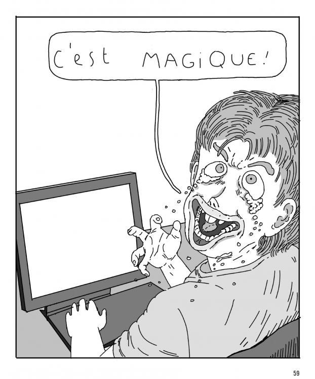 L'irruption du grotesque comme résumé sociologique chez Léon Maret.