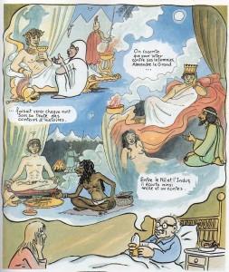 Les milles et une nuits : récit fondateur de l'art du conteur, à plus de deux millénaires de distance (volume 1, p.37)